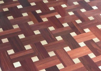 Beautiful new wood floors